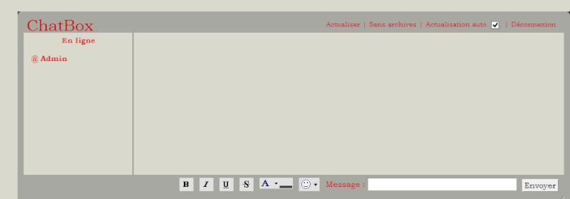 C. Comment utiliser la chatbox  1510