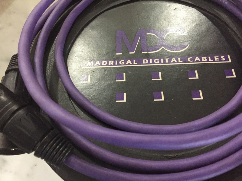 Madrigal MDC-1 AES-EBU Cable (Reserved) Img_6011