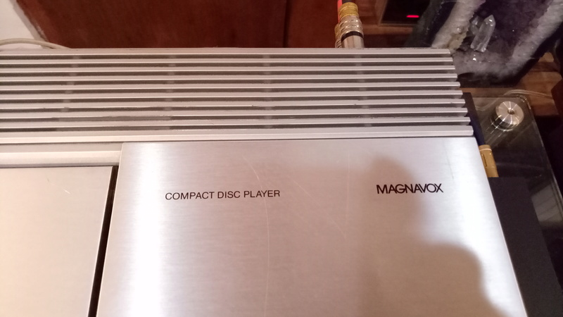 Philips/Magnavox FD-1000 (CD-100) CD player(used) Img20131
