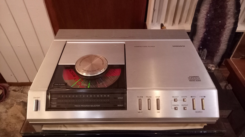 Philips/Magnavox FD-1000 (CD-100) CD player(used) Img20142