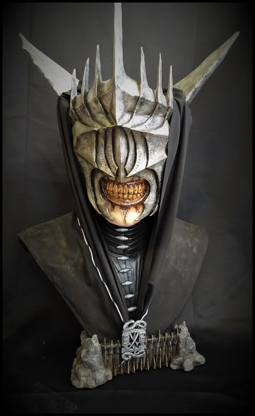 Mouth of Sauron lifesize bust (LOTR) Mouth_14