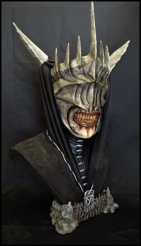 Mouth of Sauron lifesize bust (LOTR) Mouth_15