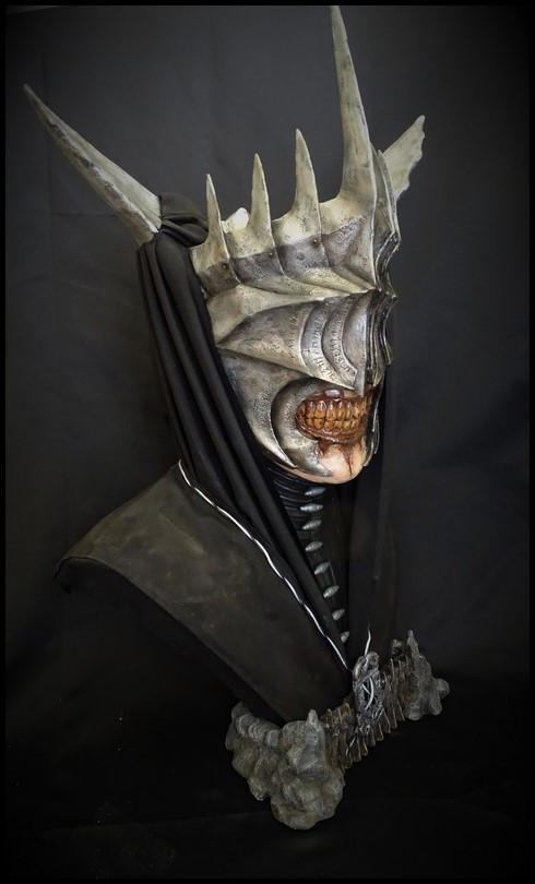 Mouth of Sauron lifesize bust (LOTR) Mouth_16
