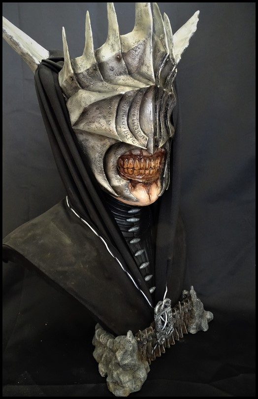 Mouth of Sauron lifesize bust (LOTR) Mouth_17