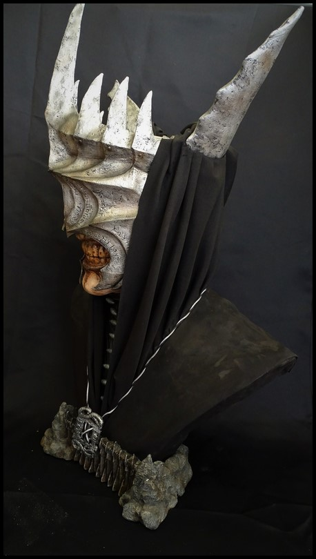 Mouth of Sauron lifesize bust (LOTR) Mouth_19