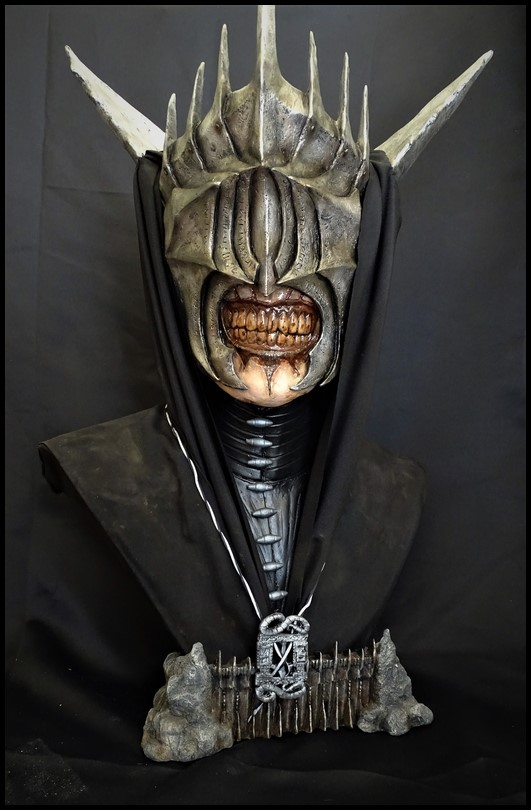 Mouth of Sauron lifesize bust (LOTR) Mouth_20