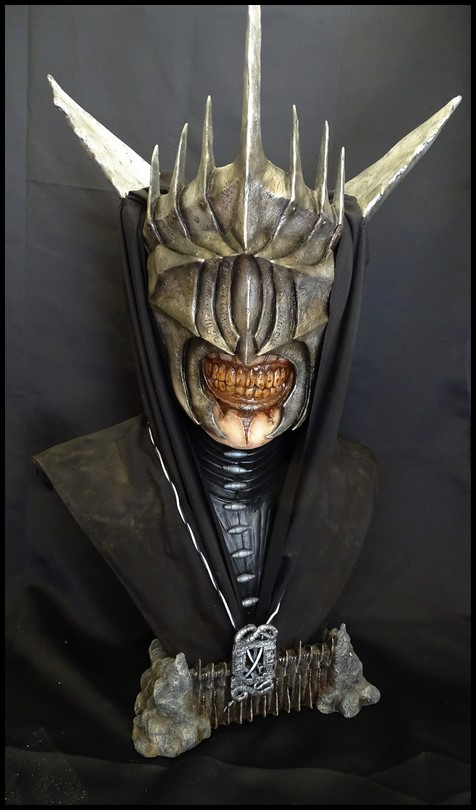 Mouth of Sauron lifesize bust (LOTR) Mouth_21