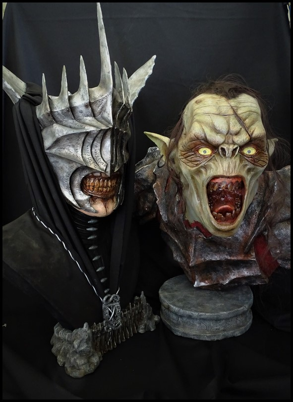 Mouth of Sauron lifesize bust (LOTR) Mouth_22