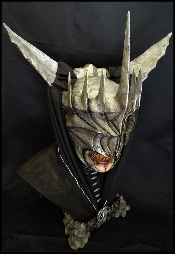 Mouth of Sauron lifesize bust (LOTR) Mouth_23