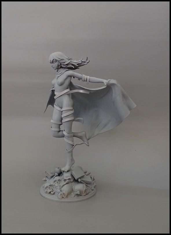 Eto (tokyo ghoul) statue 1/7 Wip_2510