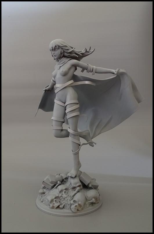 Eto (tokyo ghoul) statue 1/7 Wip_3610