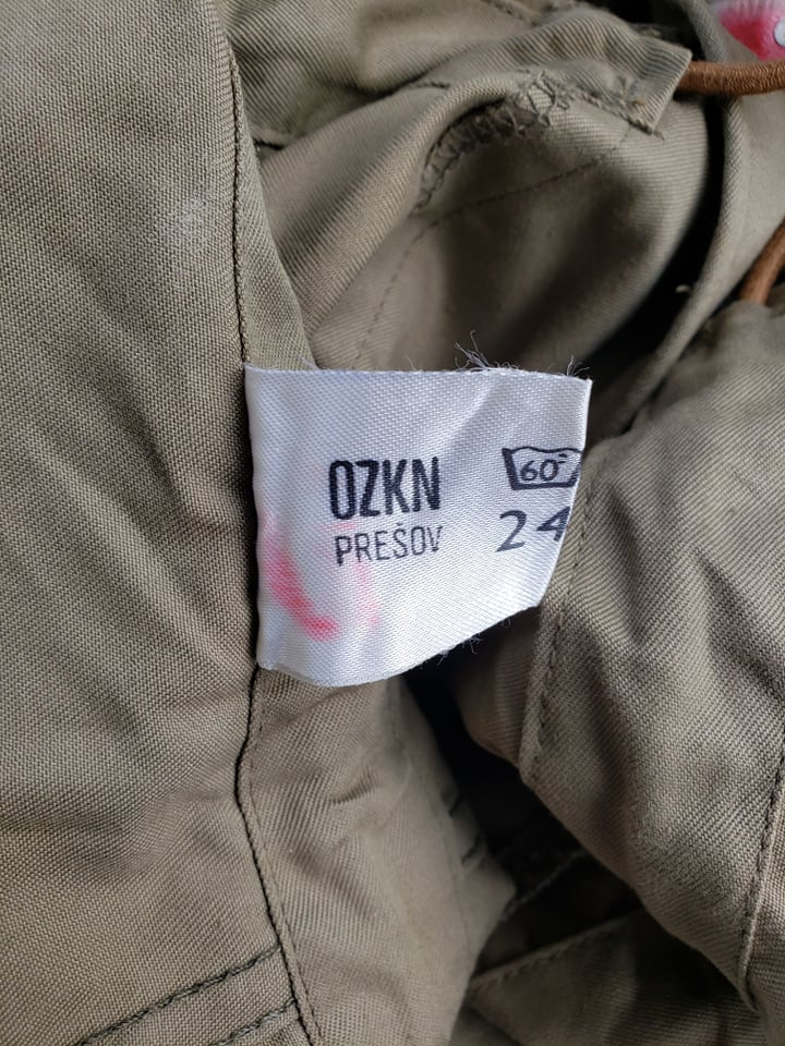 Vz. 85 summer uniform - called also Tropiko or Kuvajt 78553110