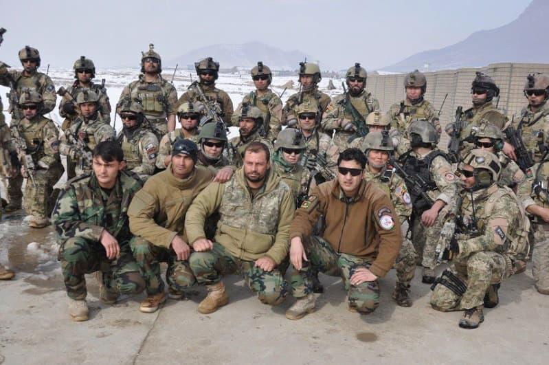 Afghan PArtnering Unit Polar Fleece Jacket 78852410