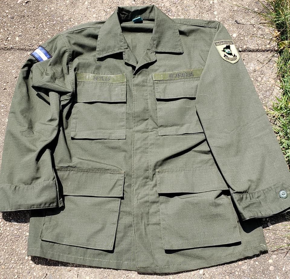 Nicaraguan Ejercito Jacket - Military Academy Academ12