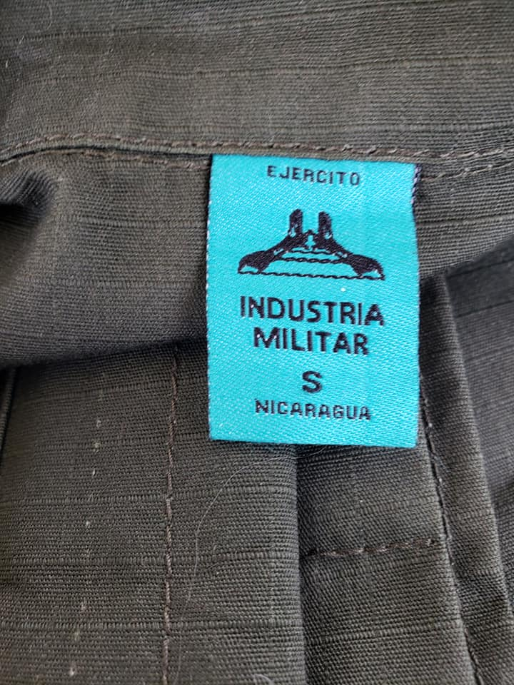 Nicaraguan Ejercito Jacket - Military Academy Academ13