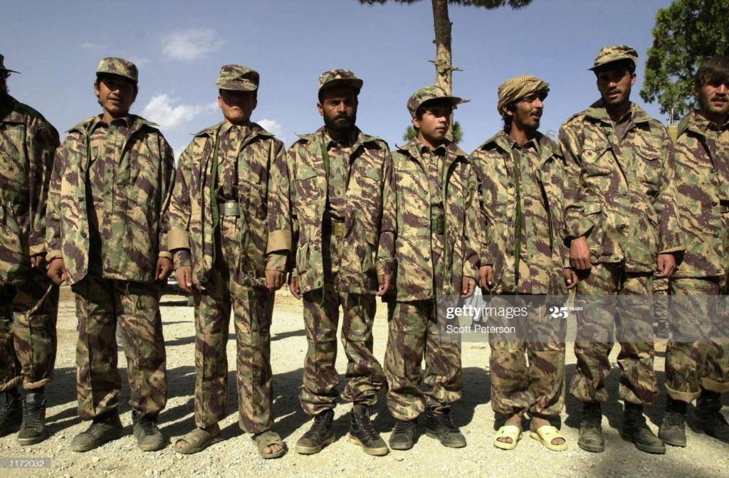 Afghan Northern Alliance Lizard Set Ana110