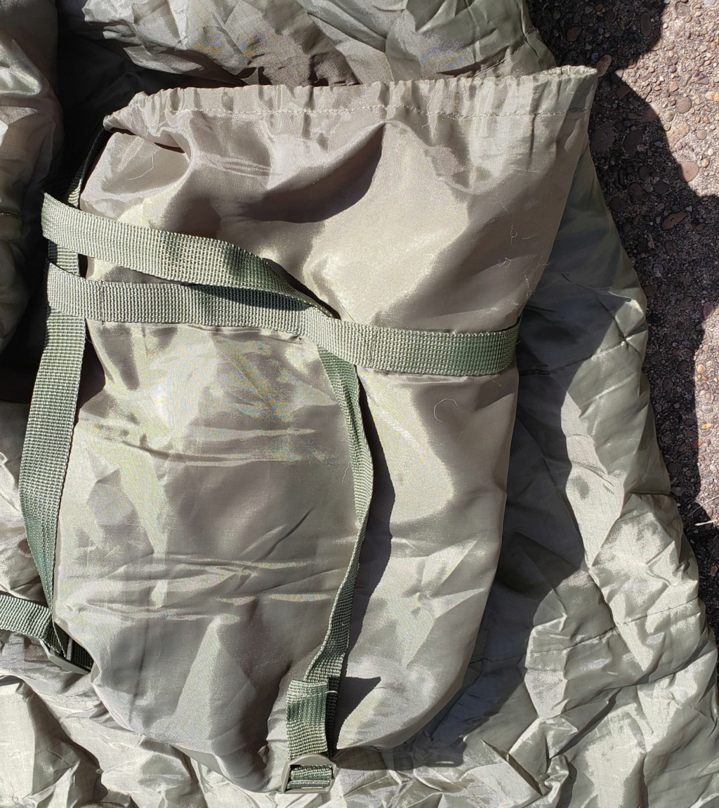 Afghan National Army Sleeping Bag and Stuff Sack Sleepi12
