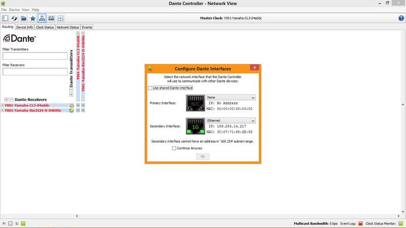Communication ordi & Dante & yamaha CL5 Dante_10