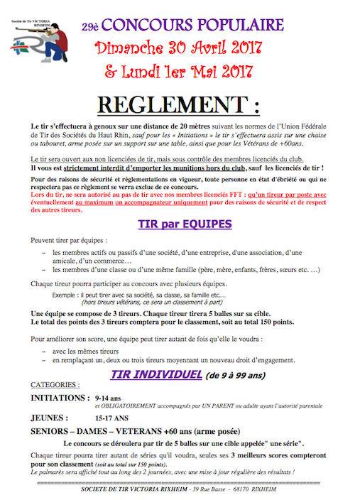 Concours populaire TIR à la carabine Rixheim Captur34