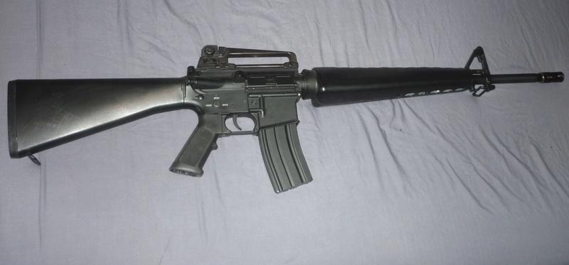 5 répliques M16-210