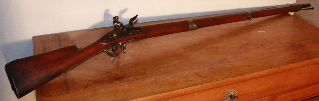 Fusil 1766, ou 1763 léger. 1763_010