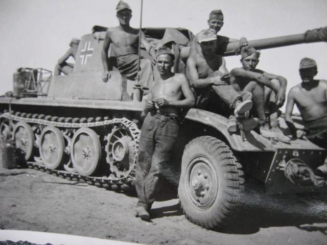 Semi chenillé: Panzer Selbstfahrlafette II 7,5 cm Kan. L/41 auf Zgkw.5t HKP902 93531210