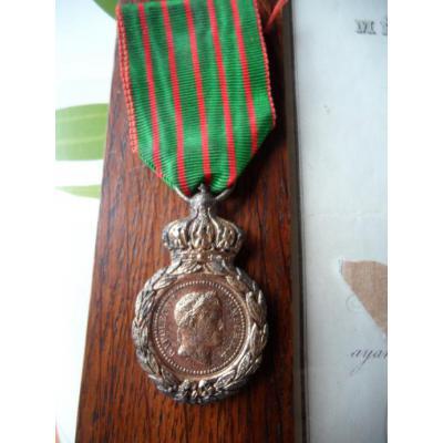 Les rubans de la médaille de Sainte Hélène. _0000512