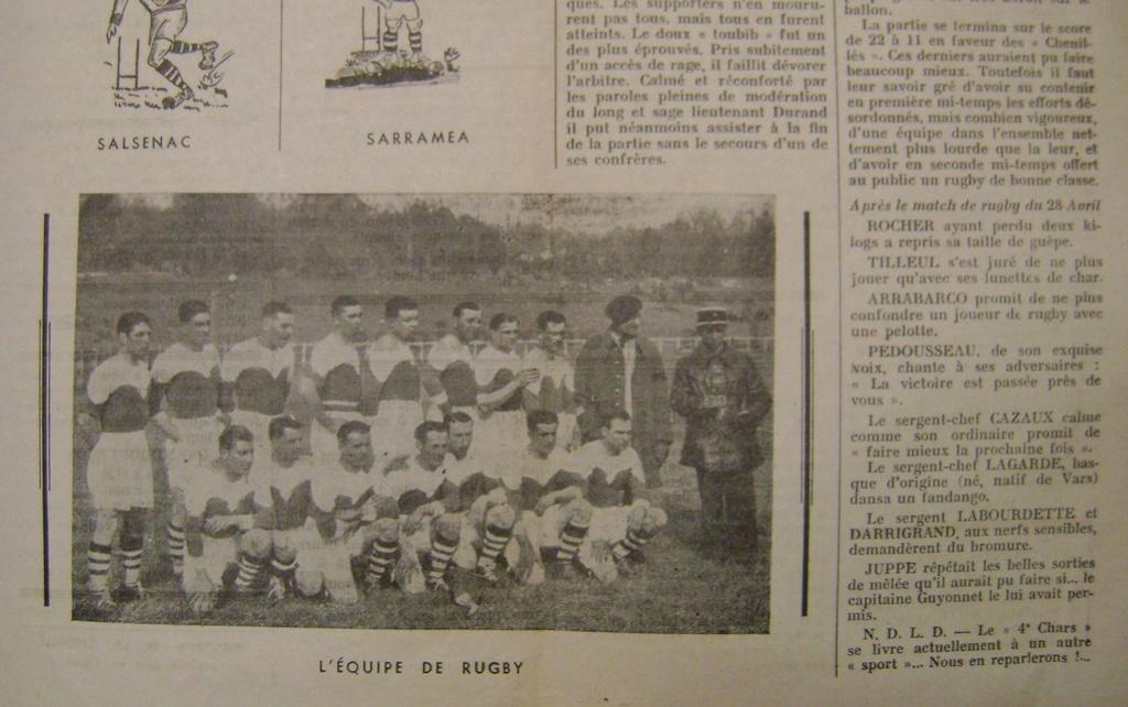 Journal interne du 4° BCC en mai 1940. Dsc01716