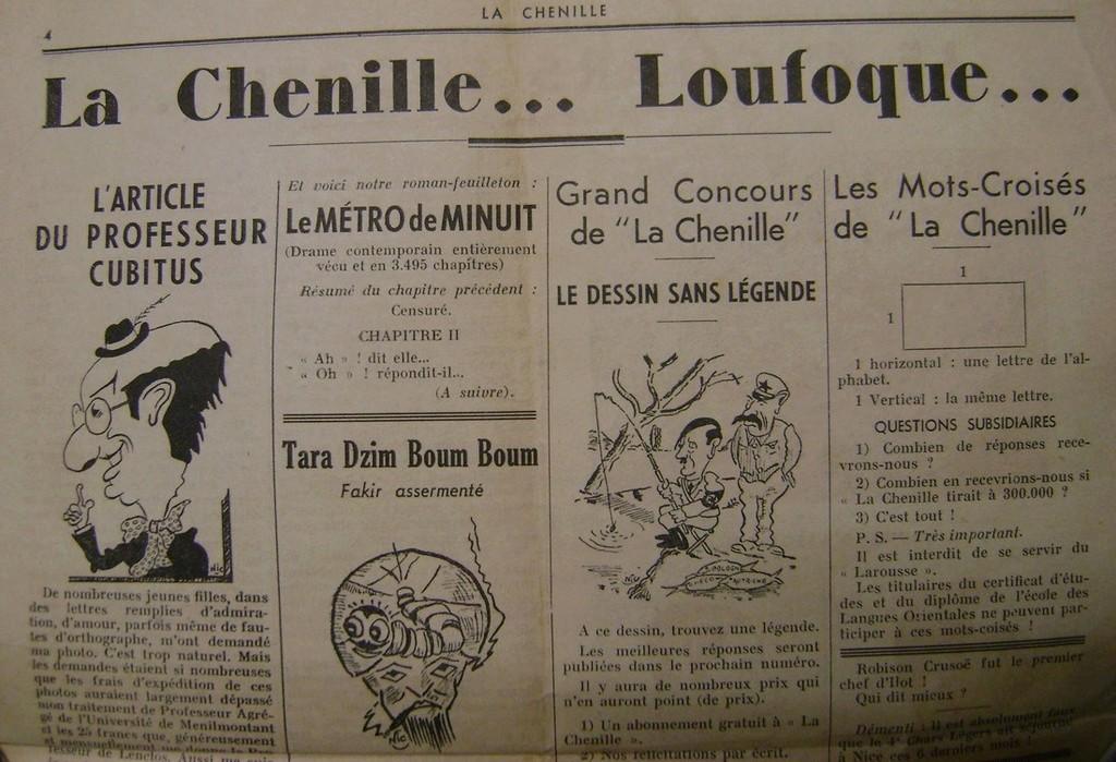 Journal interne du 4° BCC en mai 1940. Dsc01717