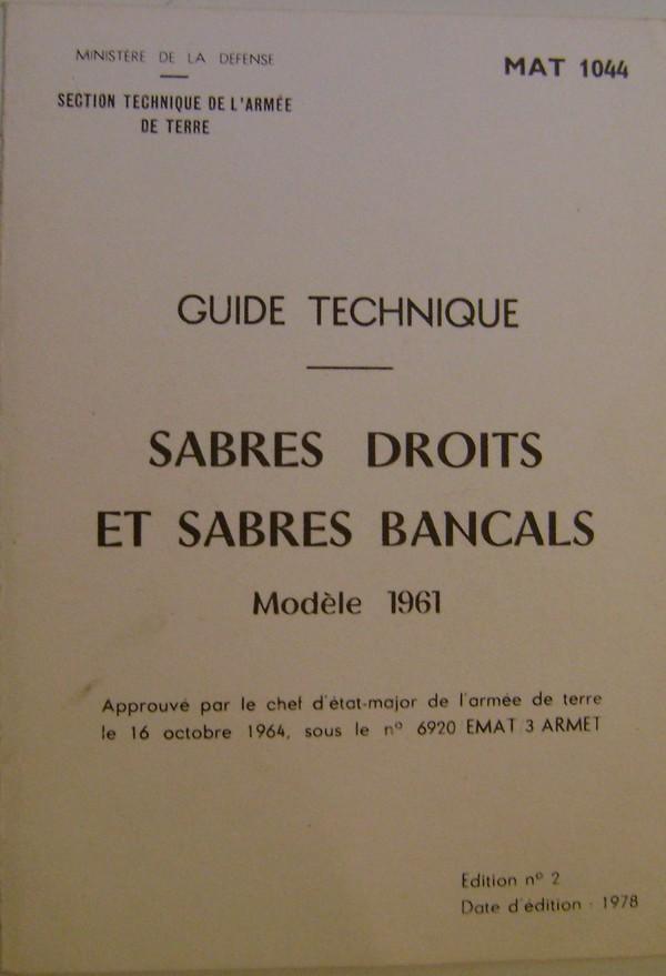 Les sabres modèles 1961. Dsc08542