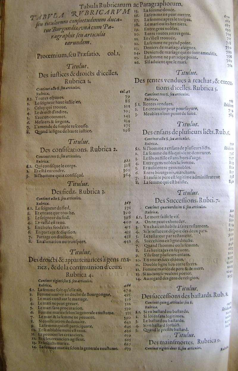 Lois et coutumes de la Franche Comté de Bourgogne au XVII°. Dsc08825