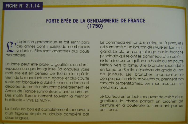 Forte épée de la gendarmerie de France ? Dsc09156