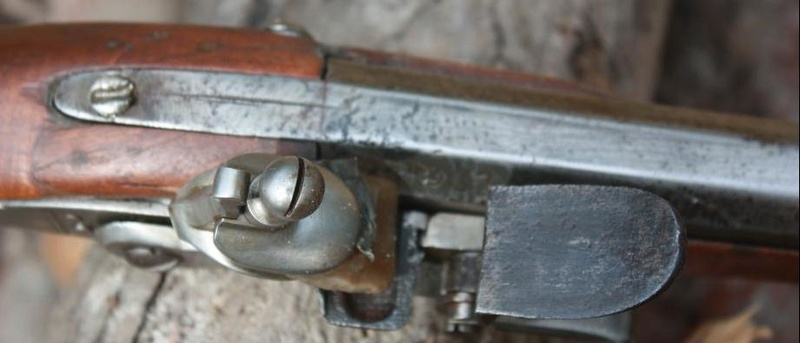 Fusil modèle 1746 (en fait 1717!) et comparaison des platines 1717 à 1754. Sans_106