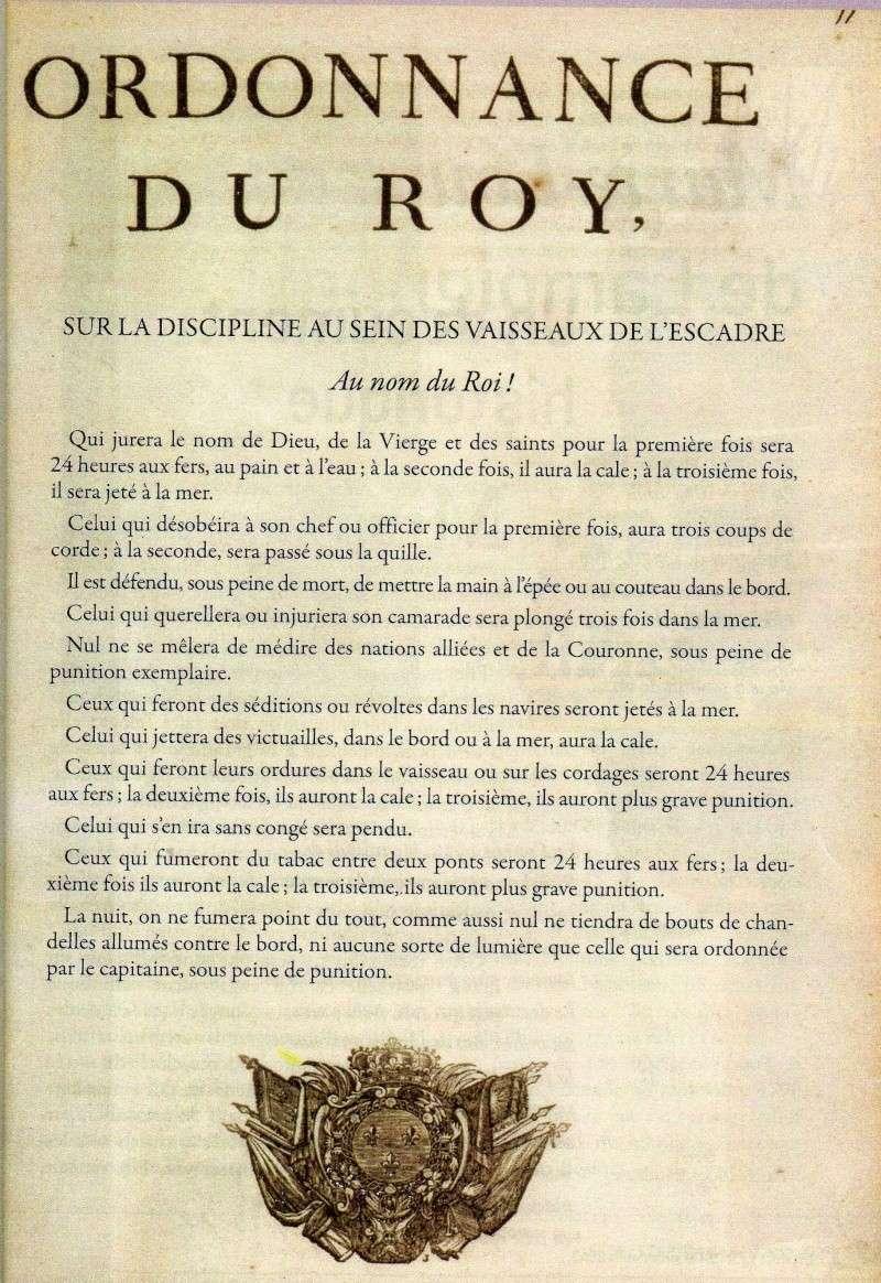 Ordonnance sur la discipline dans la marine en 1634. Sur_la10