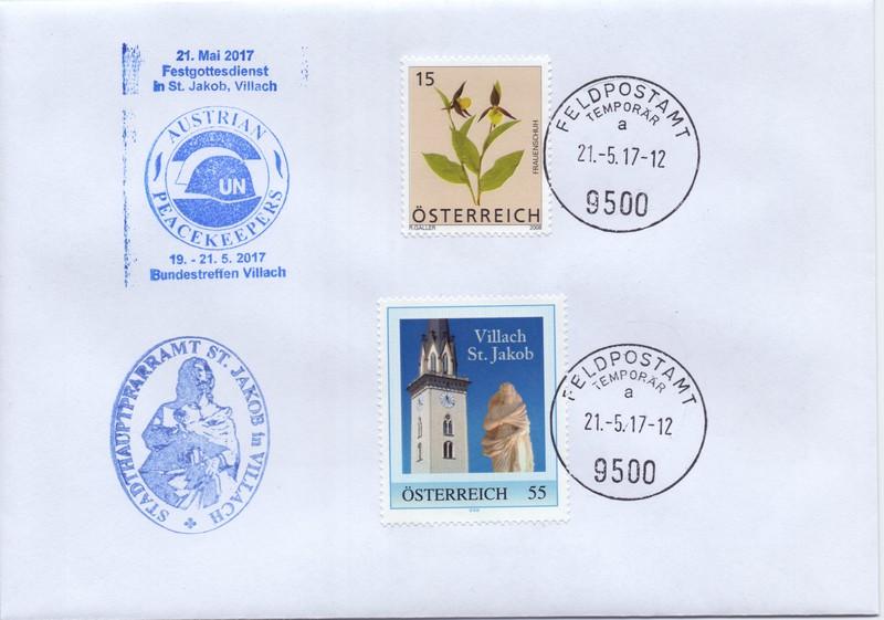 Feldpostamt in Villach Bj80010