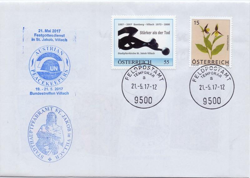 Feldpostamt in Villach Bstt8010