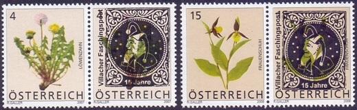 Private Überdrucke auf Postwertzeichen Yberdr10