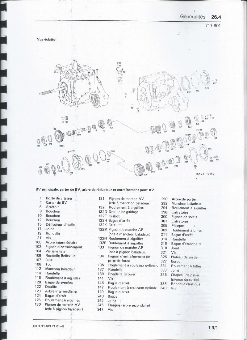 Casse moteur OM 352 Bv_40612