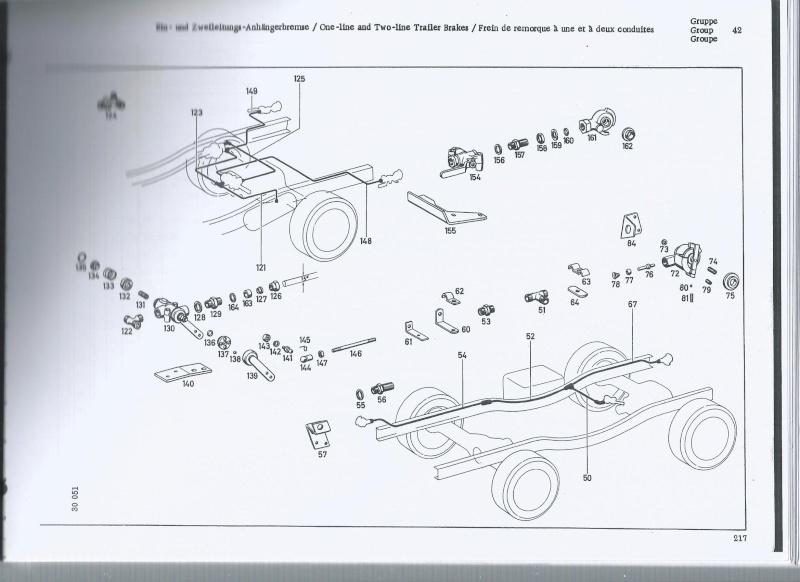 montage système de freinage pneumatique pour remorque sur 406 Freina11
