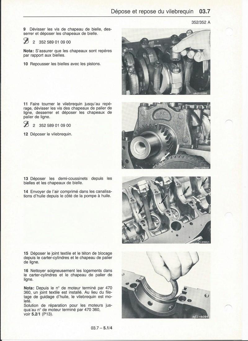 Casse moteur OM 352 Palier10