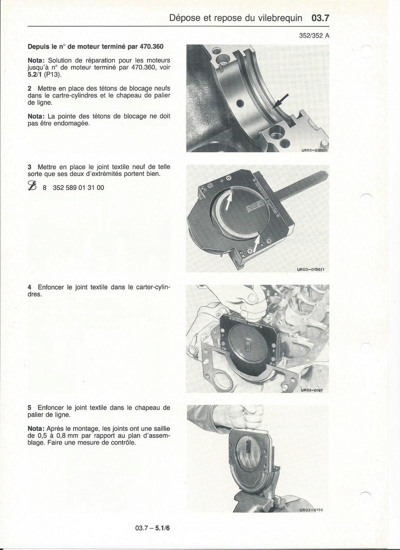 Casse moteur OM 352 Palier11