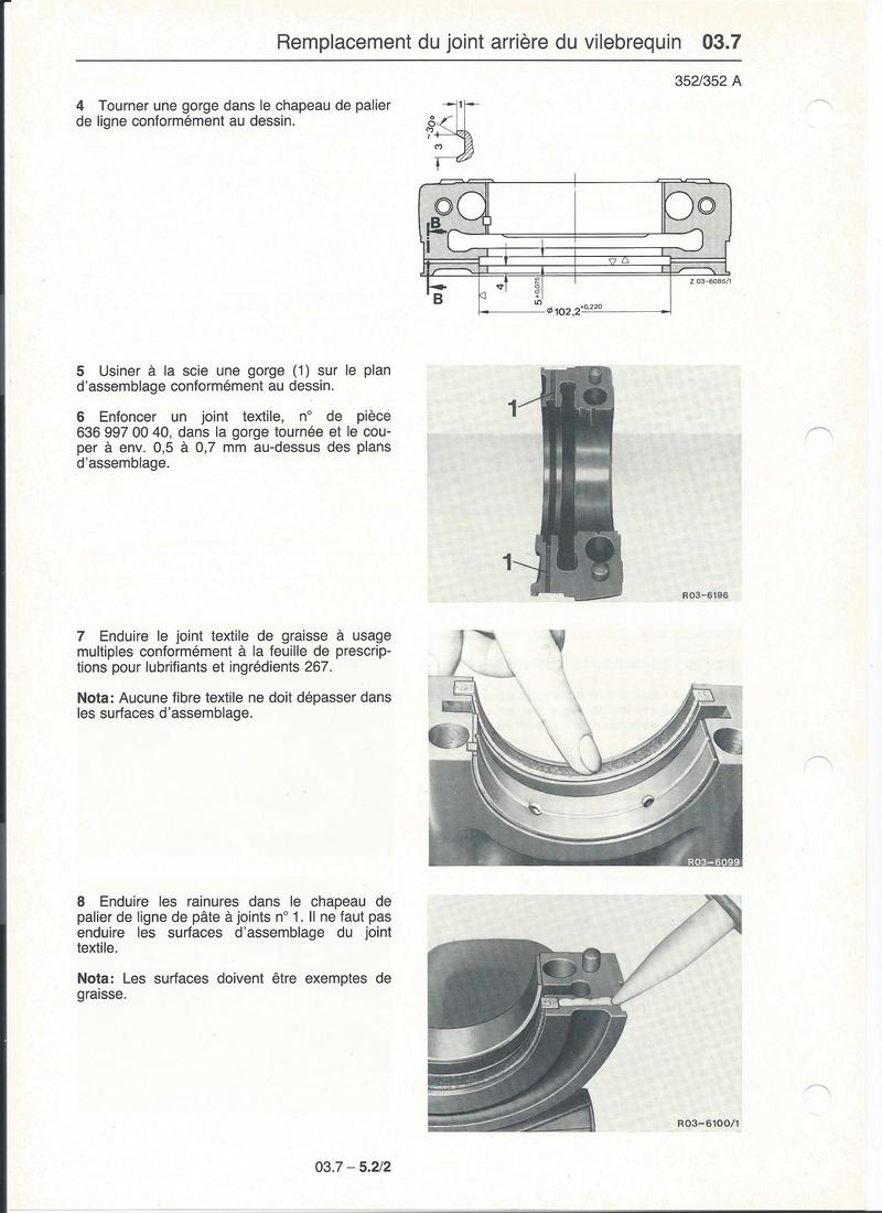 Casse moteur OM 352 Palier12