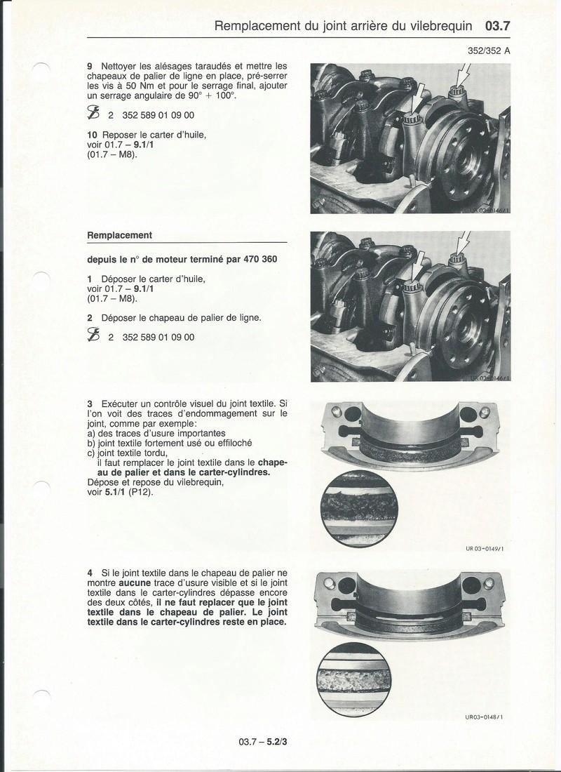 Casse moteur OM 352 Palier14