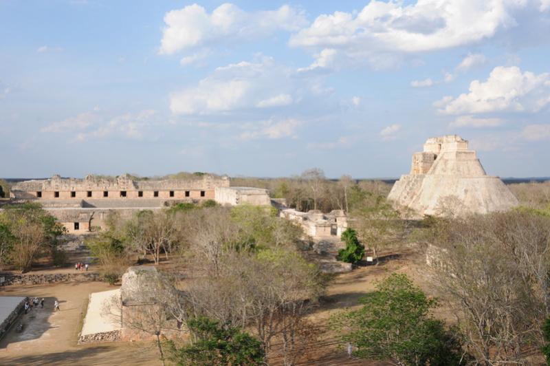 Les sites archéologiques de la péninsule du Yucatan Dsc_9310