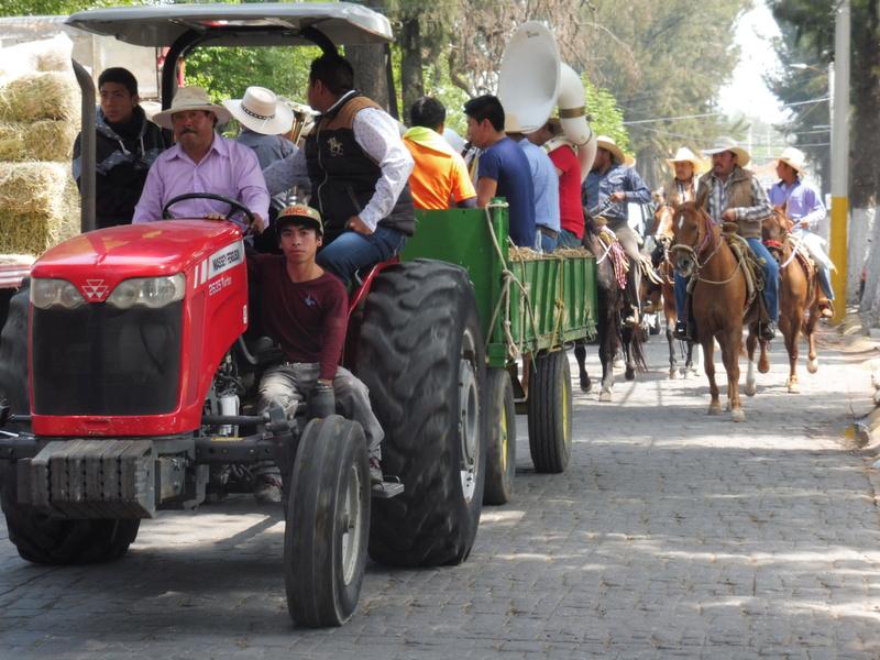 Semaine Sainte à Teotihuacán Mexico P1110017