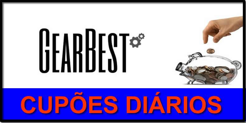 Oportunidade [Provado] Cupões diários para descontos na Gearbest - Atualizados todos os dias. Cupoes10