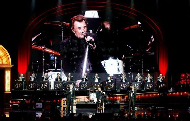 Johnny :17 dates uniques pour assister au show des Vieilles Canailles  19225110