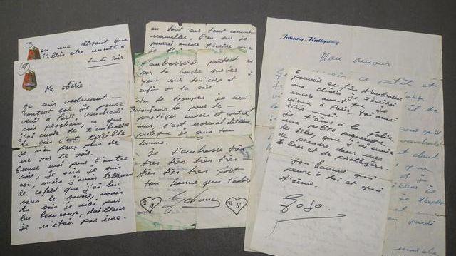 les lettres d'amour de Johnny vendues aux enchères dans le Var 870x4810
