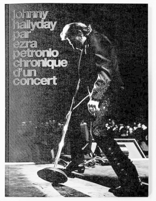 Johnny Hallyday par Ezra Petronio Chronique d'un concert Captur56