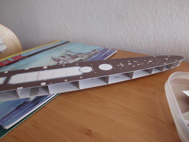 Giuseppe Garibaldi Modelik 1:200 gebaut von Herbert Dsci7115